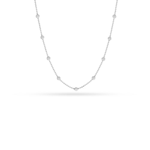 Mulco Bijoux | Beaded Mini Chain Necklace |  Chocker