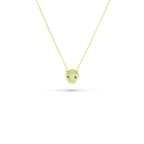 Mulco Bijoux | Puma Thin Chain Necklace | Cubic Zirconia