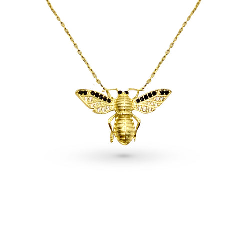 Mulco Jewelry | Bee Pendant Necklace