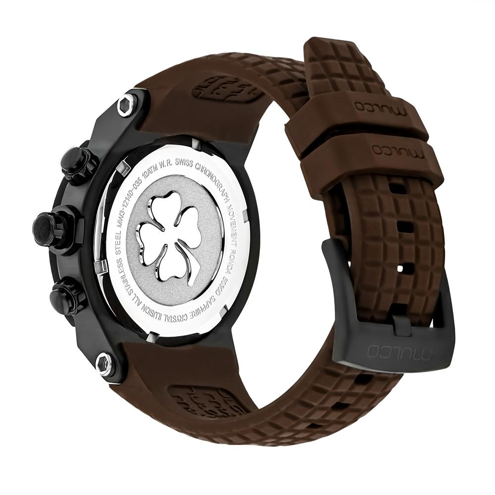 Men Watches | Mulco Illusion Cube | Pattern Texture