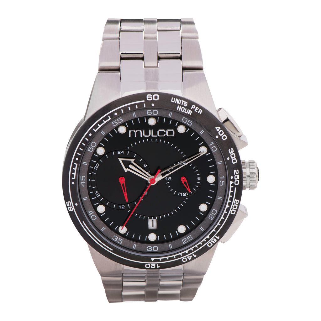 Men Watches | Stainless Steel Band | Silver accents | Water Resistant