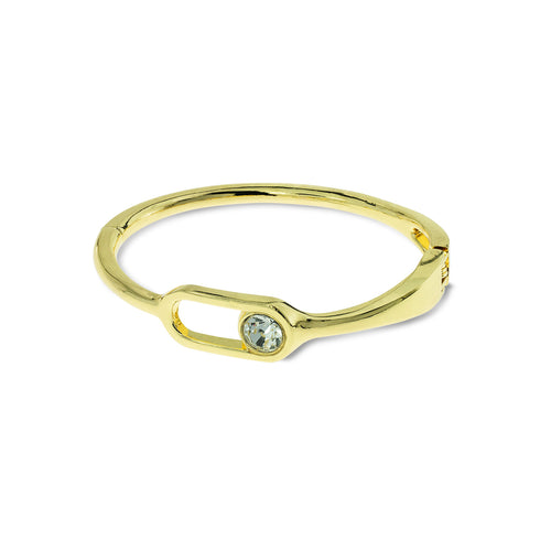 Mulco Bijoux | Cubic Zirconia Bangle Bracelet | Gold