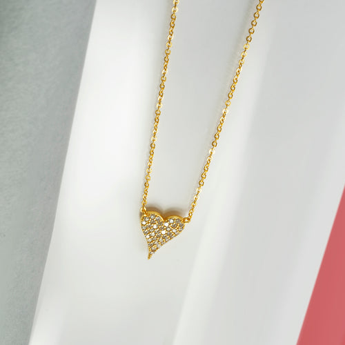 Mulco Bijoux | Heart Thin Chain Necklace | Lifestyle
