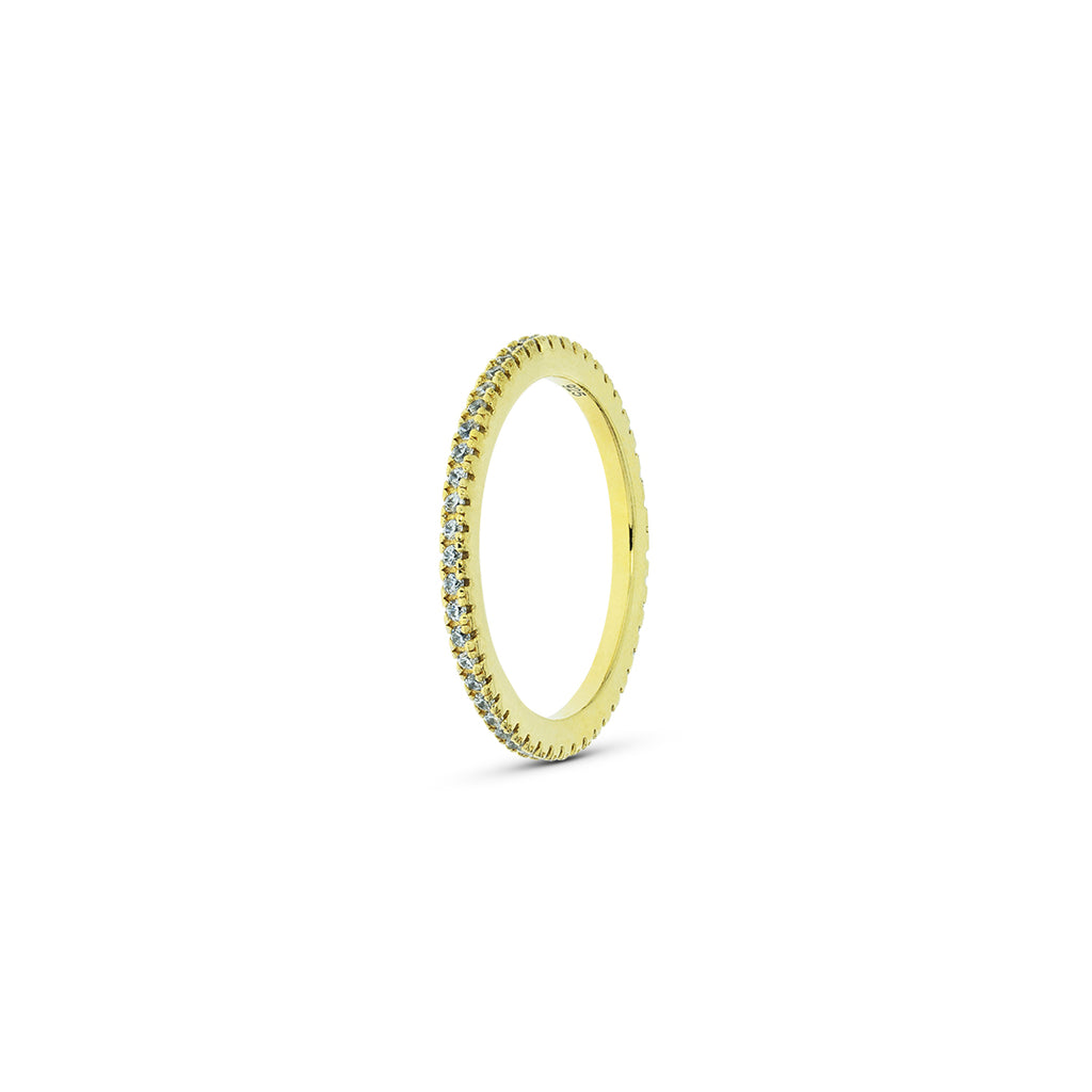 Mulco Bijoux | Thin Band Stackable Ring