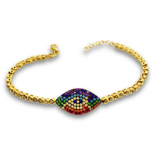 Mulco Jewelry | Multicolor Eye Bracelets