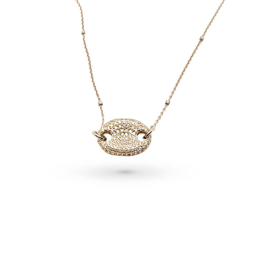 Mulco Jewelry | Oval Thin Chain Necklace
