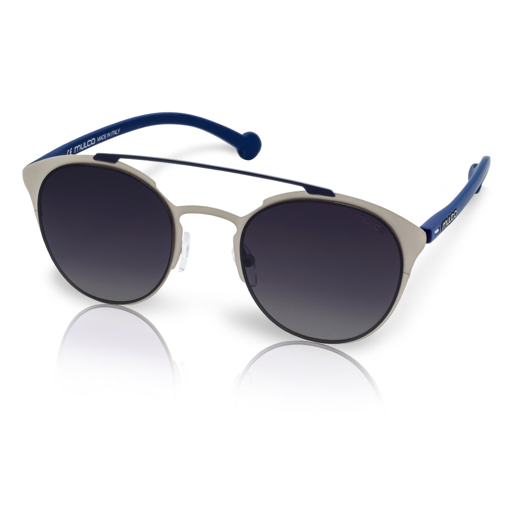Mulco Sunglasses | Leaf Cat | Blue Rubber Kinishing