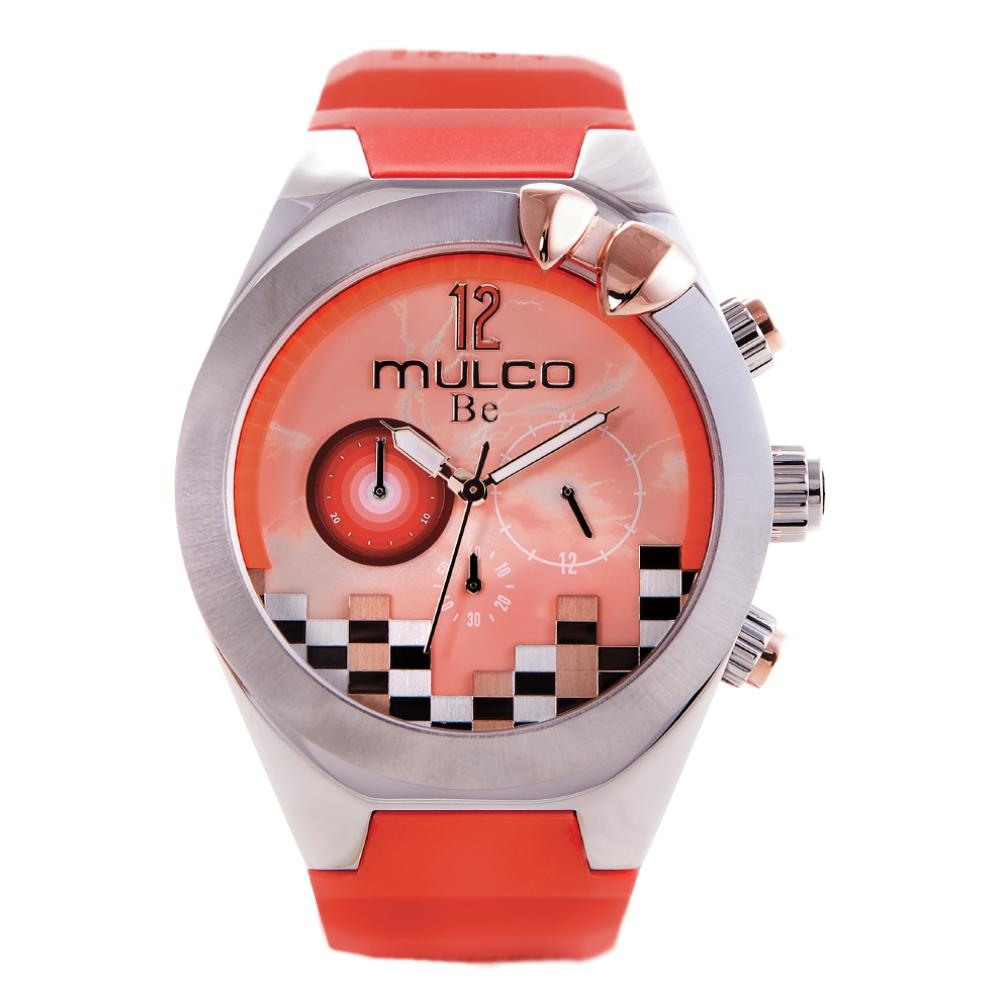 Ladies Watches | Coral Silicone Band | Rose Gold accents | Water Resistant