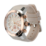 Mulco Watches Women | Enchated Maple | Rose Gold Accents | Overside