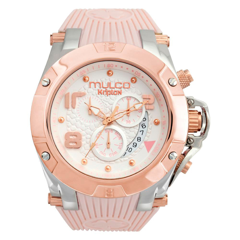Women Watches | Rose Beige Silicone Band | Rose Gold accents | Water Resistant