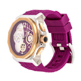 Ladies Watches | Mulco Enchanted Shell | Swarovski | FucsiaReverse