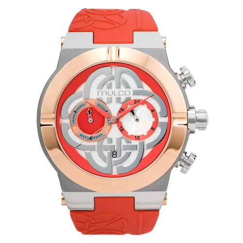 Womens Watches | Coral Silicone  Band | Rose Gold accents | Water Resistant
