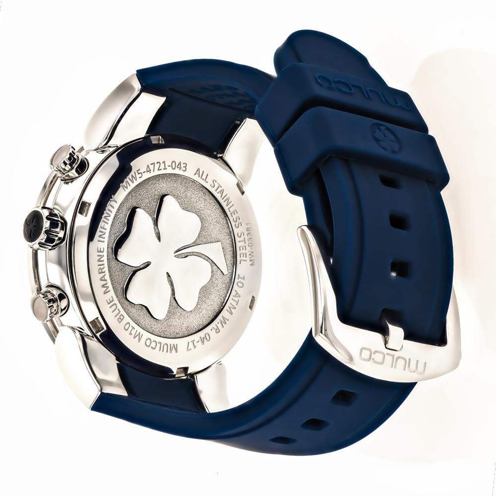 Ladies Watches | Mulco Blue Marine Infinity | Oversized