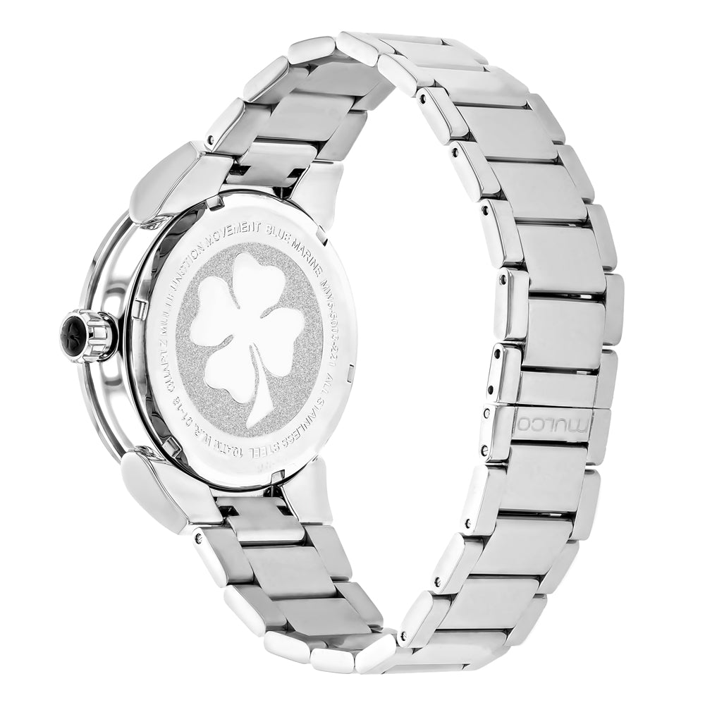 Womens Watches | Mulco Blue Marine Metal | Oversized