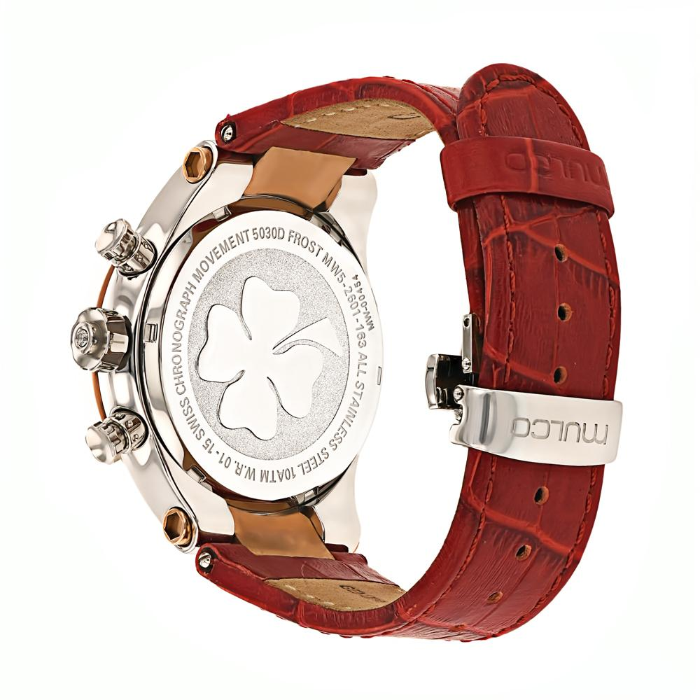 Ladies Watches | Mulco Frost Ladies | Red Genuine Italian leather
