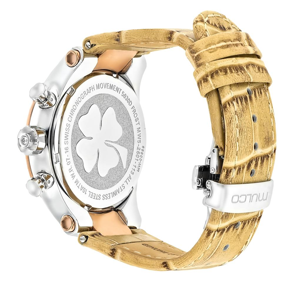 Ladies Watches | Mulco Frost Ladies | Beige Genuine Italian leather