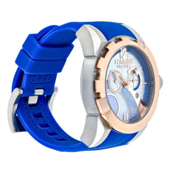 Womens Watches | Mulco Gravity IOS | Blue Silicone Band