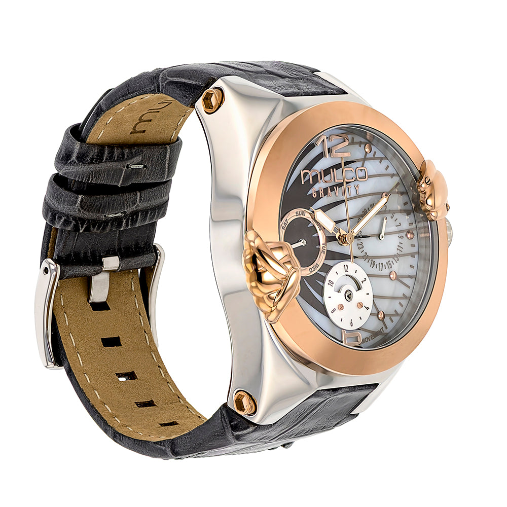 Ladies Watches | Mulco Gravity Saturn | Rose Gold Accents