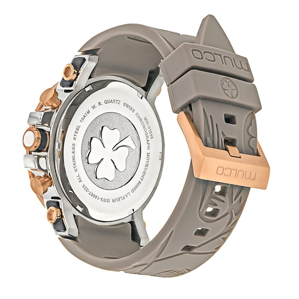 Womens Watches | Mulco La Fleur Hortensia | Taupe Silicone Band