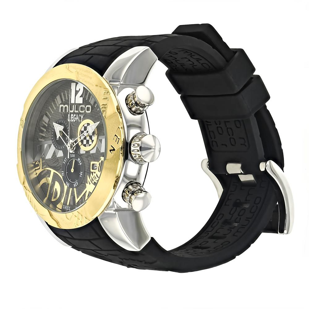 Womens Watches | Mulco Legacy Street Art | Special Pattern design | BlackReverse