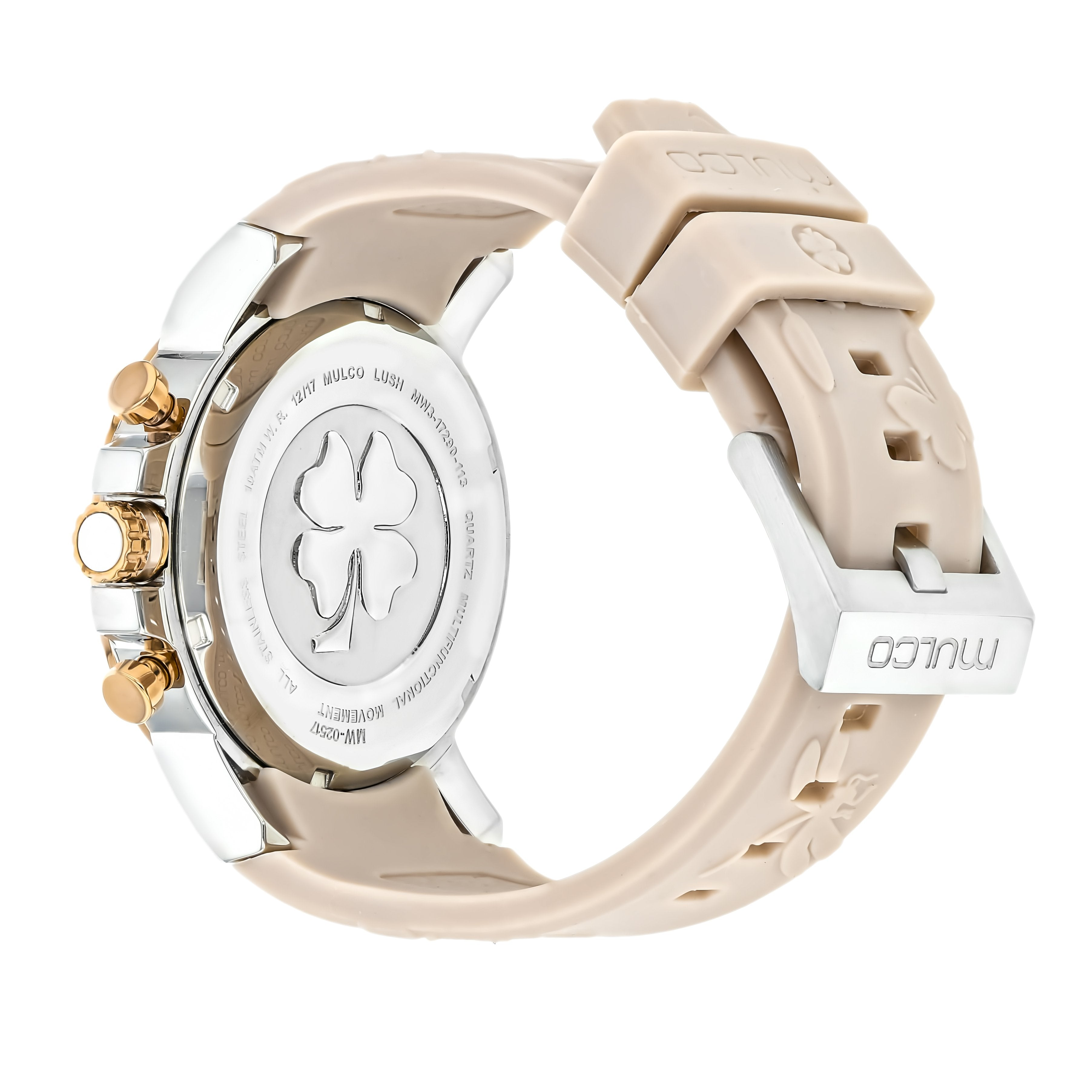 Ladies Watches | Mulco Lush Bee | Beige Silicone Band