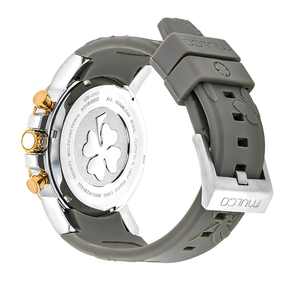 Ladies Watches | Mulco Lush Bee | Gray Silicone Band