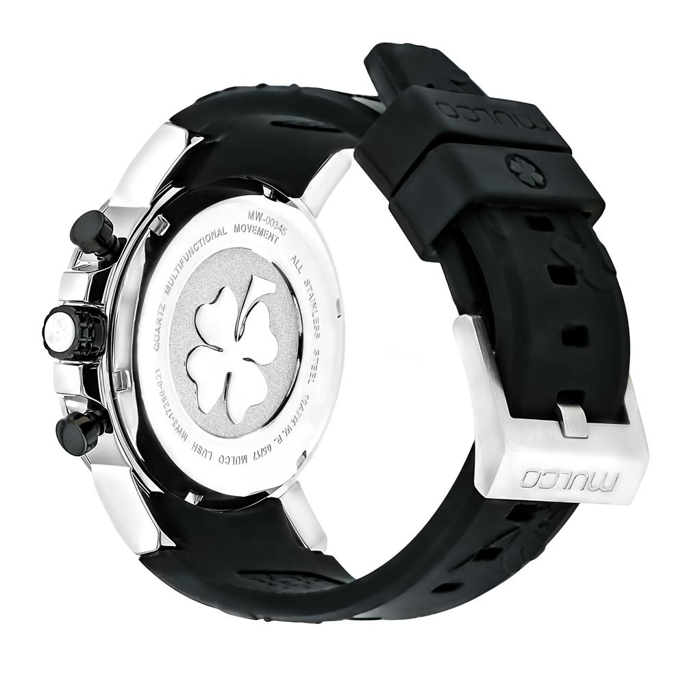 Ladies Watches | Mulco Lush Bee | Black Silicone Band