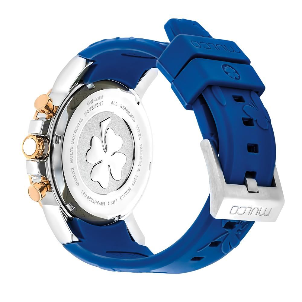 Ladies Watches | Mulco Lush Bee | Blue Silicone Band