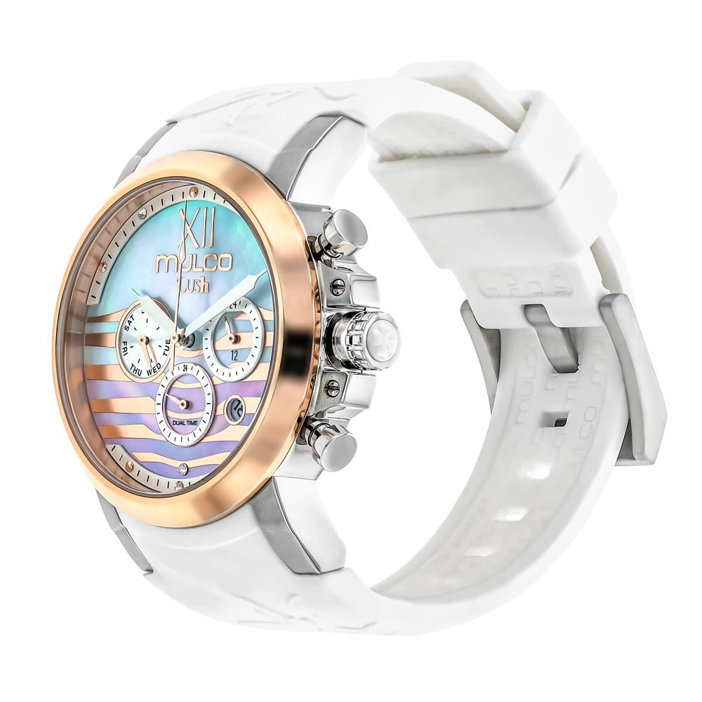 Ladies Watches | Mulco Lush Bee | Swarovski | WhiteReverse
