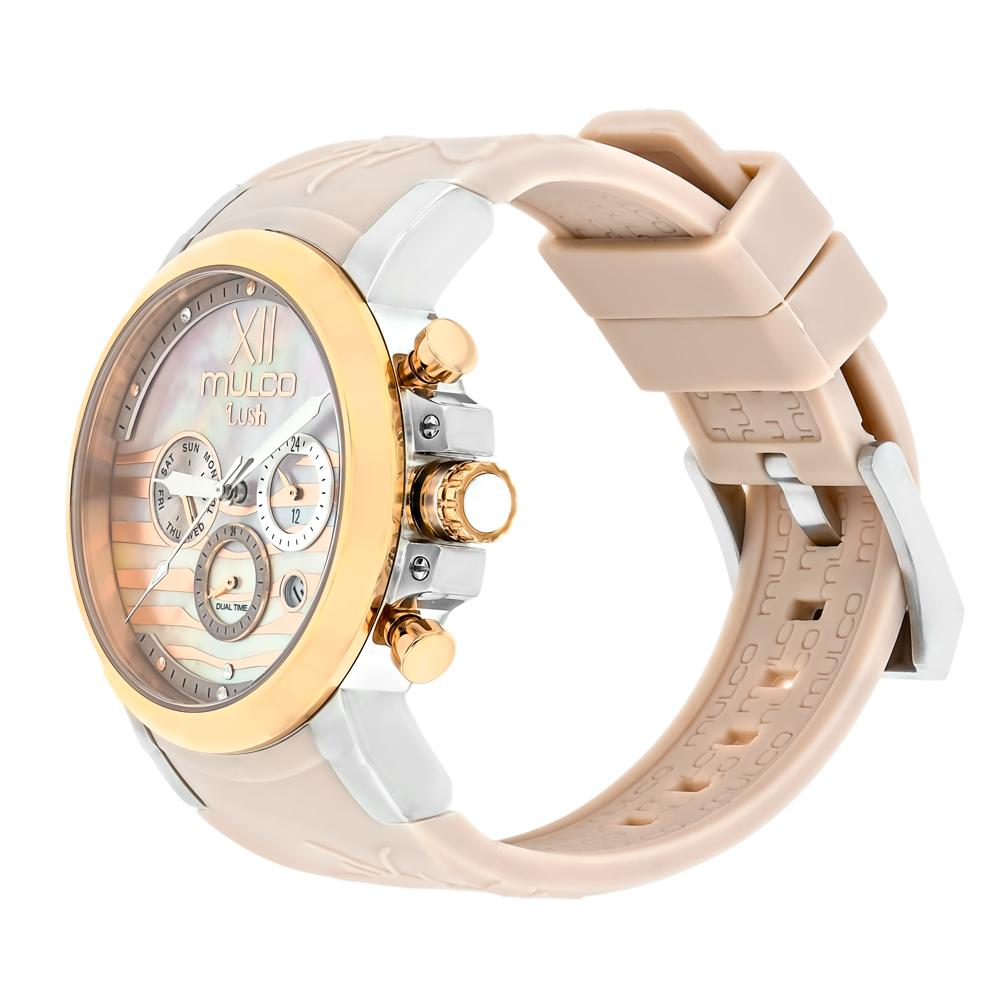 Ladies Watches | Mulco Lush Bee | Swarovski  | BeigeReverse