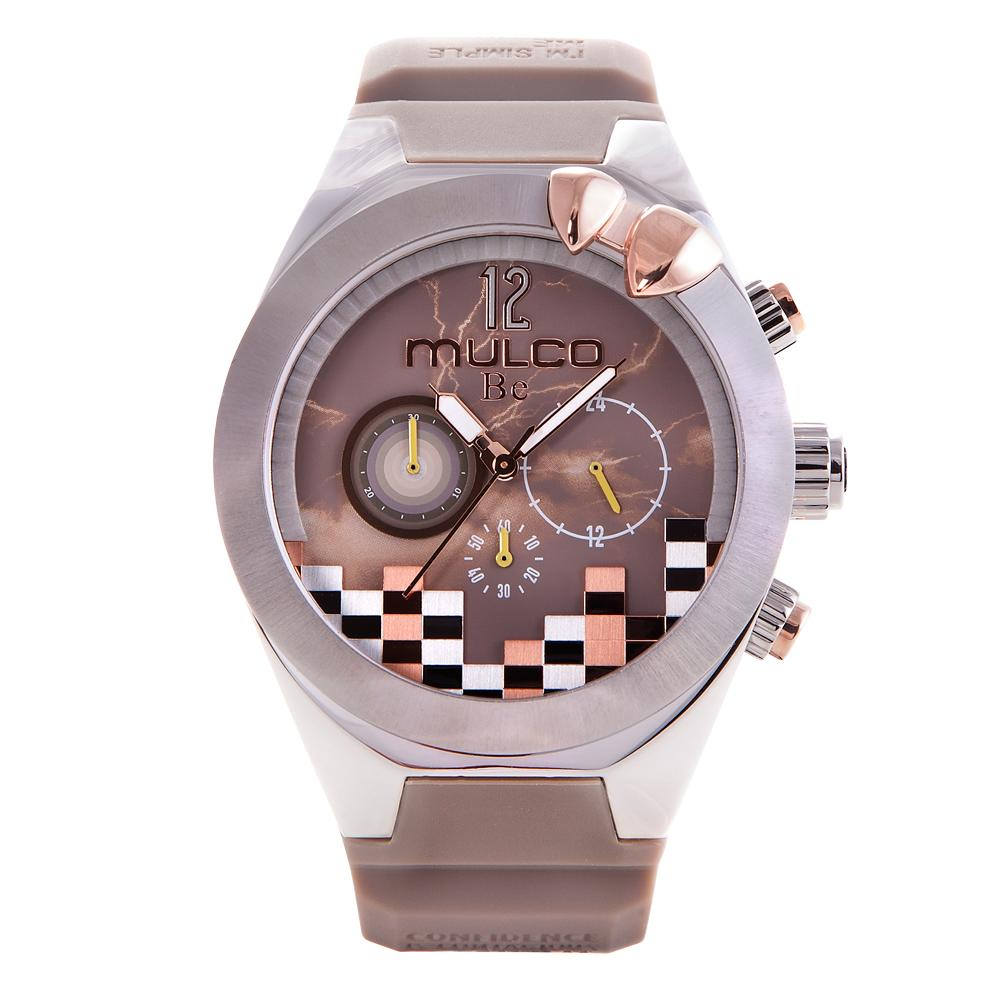 Ladies Watches | Taupe Silicone Band | Rose Gold accents | Water Resistant