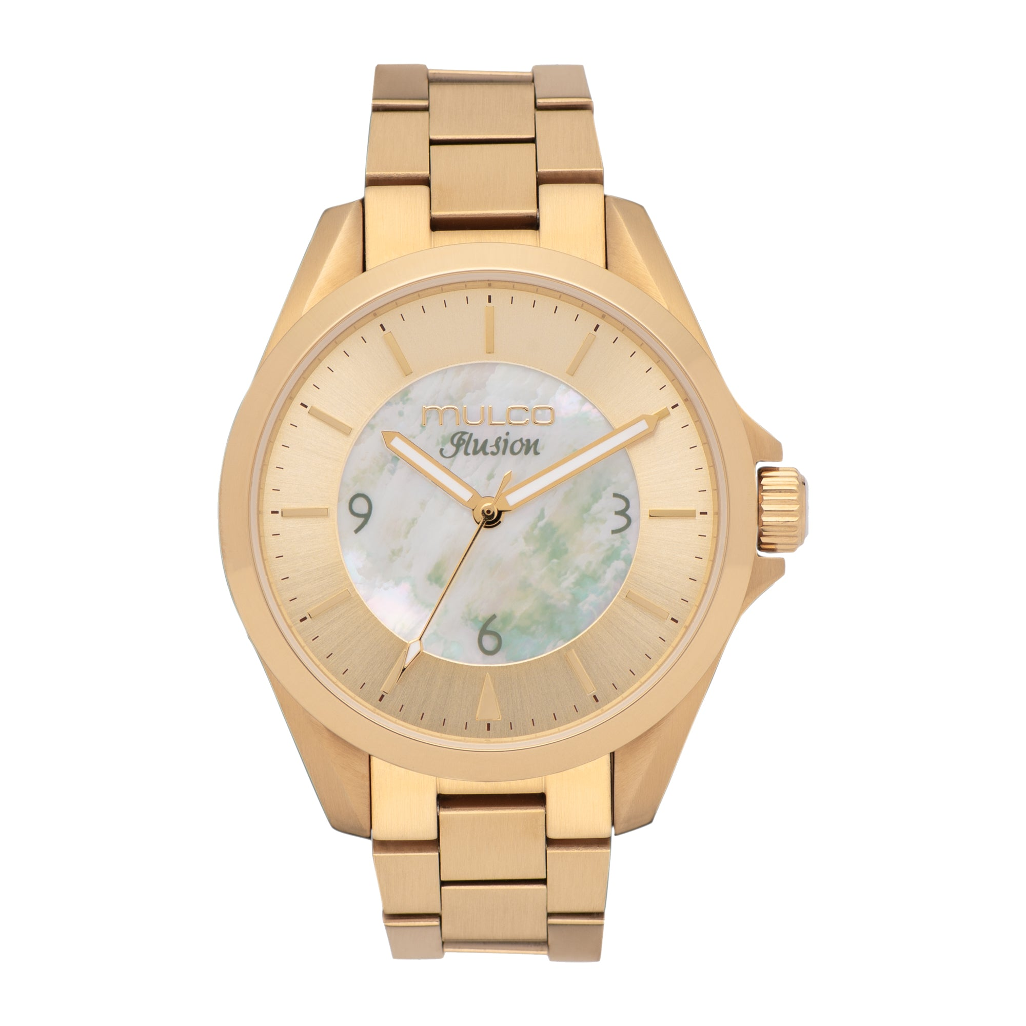 Womens Watches | Mother of Pearl | Gold Accent | Water Resistant