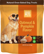 Oatmeal & Pumpkin Soft Baked Dog Treats