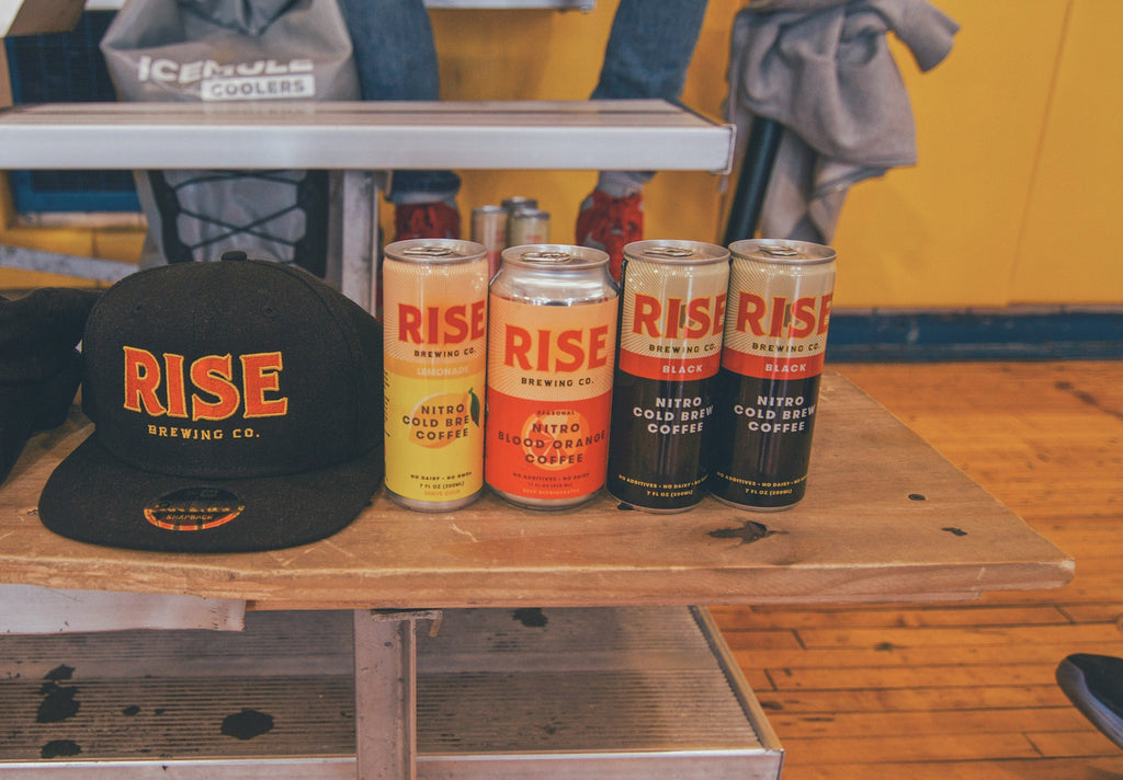 Exercise & RISE Nitro Cold Brew Coffee