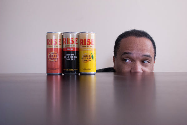 Greg Thomas looks at RISE nitro cold brew coffee cans