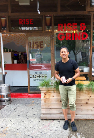 Sandro Roco Sanzo RISE Brewing Co Cafe On the RISE Blog