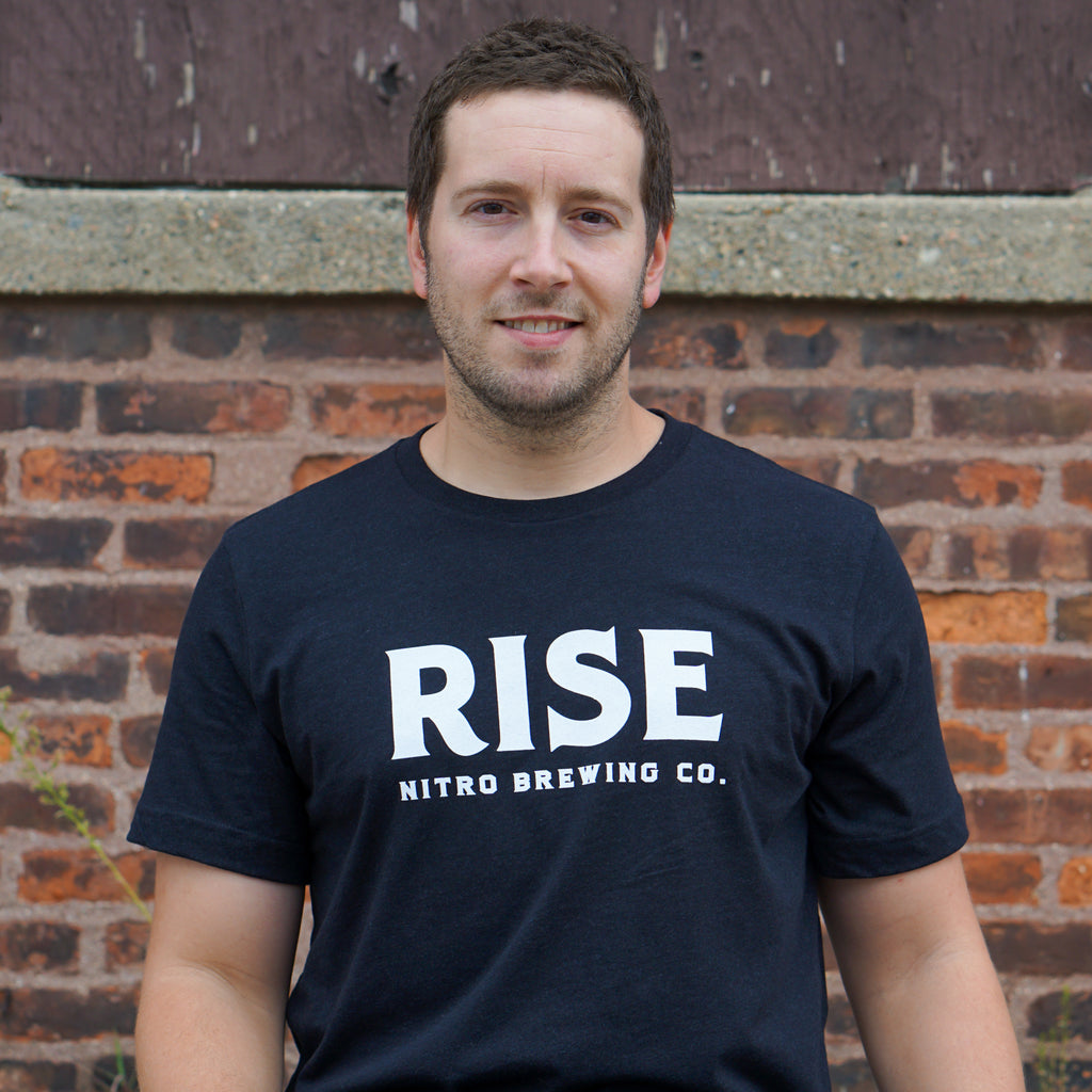 Blue Logo Tee - RISE Brewing Co.
