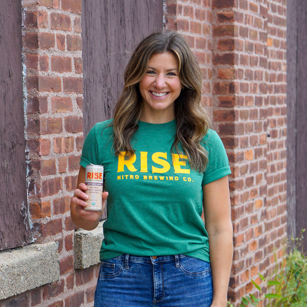Green & Yellow Logo T-Shirt