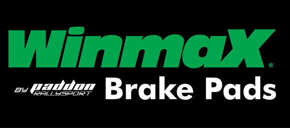 Winmax Brake Pads by Paddon Rallysport