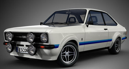 Ford Escort Flares And Spoilers