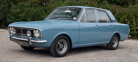Mk2 Cortina Window Rubbers And Seals