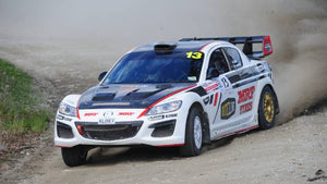 Mazda RX8 Tripple Rotor running MRF Rally Tyres and Quaife 69G Sequential
