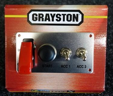 Grayston Competition Ignition Switch Panel - plus