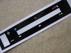 Ford Escort MK2 heater decal slide (#1311)