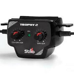 Trophy 2 Intercom. Individual volume controls & 9V power supply