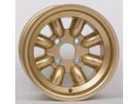 13 x 9.0 8 spoke 4x108 Group 4 Gold