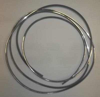 Ford Escort Front or Rear Screen Chrome