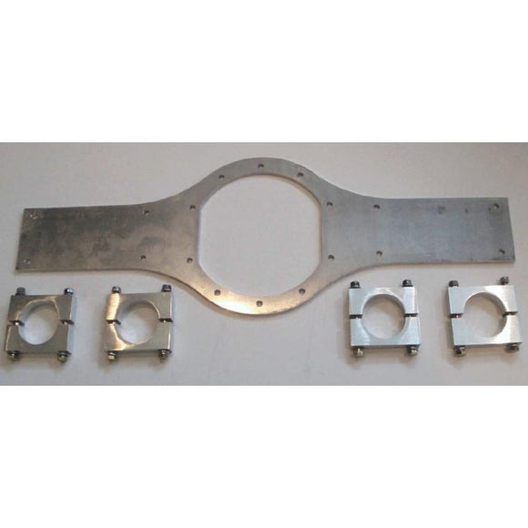 Atlas backing plate & saddles