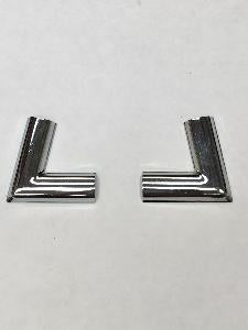 Ford Cortina MK2 Screen Chrome corner pair