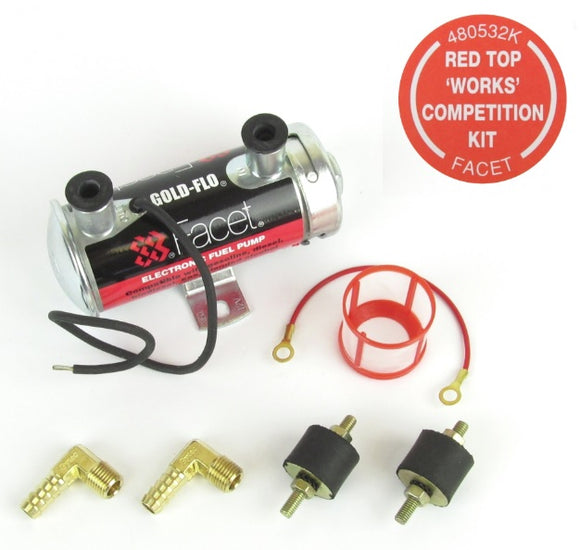 Facet Red Top Competition Fuel Pump KIT